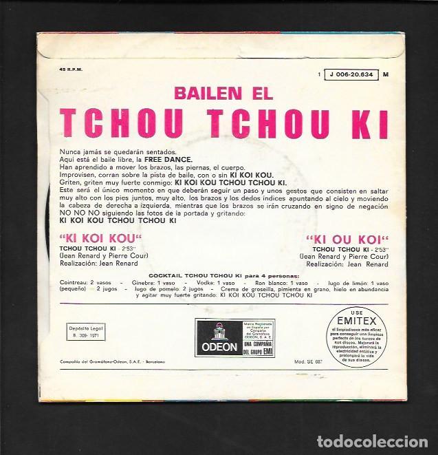"""Discos de vinilo: BAILEN EL TCHOU TCHOU KI !, """" KI KOI KOU """" Y """" KI OU KOI """", EMI - ODEON J 006- 20.634 - Foto 2 - 214068087"""