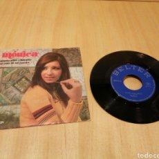 Discos de vinilo: MÓNICA. GITANOS, PILLOS Y LADRONES. UN ARPA DE MIL CUERDAS.. Lote 214070660