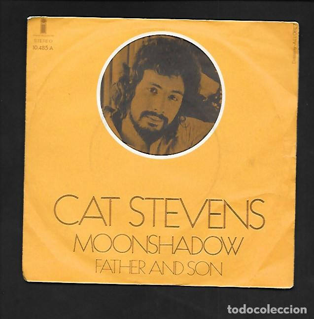 CAT STEVENS MOONSHADOW, ARIOLA - EURODISC ISLAND RECORDS 10.485 - A (Música - Discos - Singles Vinilo - Pop - Rock - Extranjero de los 70)