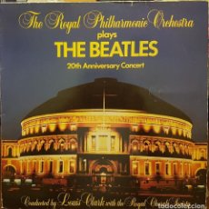 Discos de vinilo: THE ROYAL PHILHARMONIC ORCHESTRA THE BEATLES 20TH ANIVERSARY CONCERT. Lote 294488093