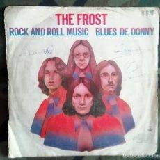 Discos de vinilo: THE FROST – ROCK AND ROLL MUSIC / BLUES DE DONNY SPAIN 1970 PSYCHEDELIC ROCK,. Lote 214076577