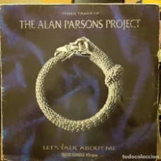Discos de vinilo: THE ALAN PARSON PROJECT - THREE TRACK12 - LET´S TALK ABOUT ME. Lote 214083520