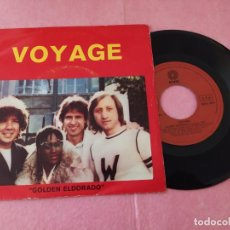 "Discos de vinilo: 7"" VOYAGE ‎– GOLDEN ELDORADO / TAHITI, TAHITI - PORTUGAL PRESS ROSSIL SINGLE - (VG++/VG+). Lote 214096571"