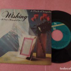 "Discos de vinilo: 7"" A FLOCK OF SEAGULLS ‎– WISHING (IF I HAD A PHOTOGRAPH OF YOU) PORTUGAL SINGLE - (EX/EX-). Lote 214097478"