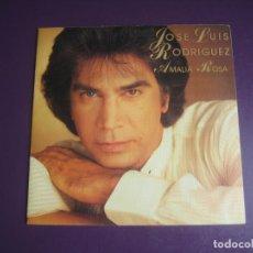 Discos de vinilo: JOSE LUIS RODRIGUEZ, EL PUMA SG EPIC 1985 - AMALIA ROSA +1 MELODICA POP VENEZUELA. Lote 214099842