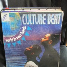 Discos de vinilo: CULTURE BEAT ?– WORLD IN YOUR HANDS. Lote 214101470