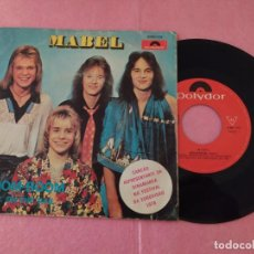 "Dischi in vinile: 7"" MABEL ‎– BOOM BOOM / F.B.I. ON THE NAIL - PORTUGAL PRESS EUROVISION SINGLE (EX-/VG+). Lote 214106502"