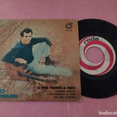 """Discos de vinilo: 7"""" JULIO IGLESIAS – A VECES PREGUNTO AL VIENTO +3 PORTUGAL PRESS EP SINGLE - (EX-/EX-). Lote 214108278"""