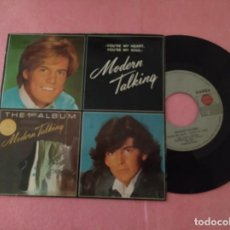 "Discos de vinilo: 7"" MODERN TALKING ‎– YOU'RE MY HEART, YOU'RE MY SOUL - PORTUGAL PRESS SINGLE - (EX/EX-). Lote 214111977"