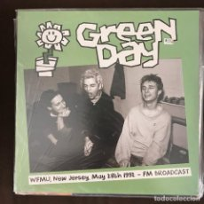 Discos de vinilo: GREEN DAY - WFMU, NEW JERSEY 1992 - FM BROADCAST - LP DOBLE BAD JOKER 2015 NUEVO. Lote 214112580