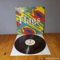 Discos de vinilo: MAXI SINGLE DISCO VINILO - FLAGS - ONE MORE. Lote 214125607