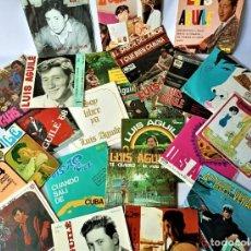 Discos de vinilo: COLECCIÓN DE 23 DISCOS VINILO EP'S DE LOS AÑOS 60' DE LUIS AGUILE. Lote 214127297