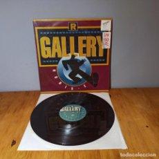 Discos de vinilo: MAXI SINGLE DISCO VINILO - R. GALLERY - ROBIX E. Lote 214129033