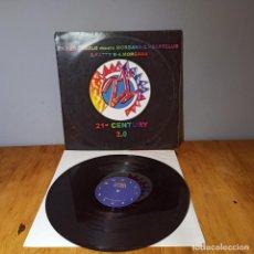 Discos de vinilo: MAXI SINGLE DISCO VINILO - VARIOUS - 21ST CENTURY 2.0. Lote 214129121