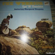 Discos de vinilo: IPI ¨N TOMBIA MARGARET SINGANA - THE WARRIOR LP - ORIGINAL INGLES - GALAXY 1975 GATEFOLD. Lote 214133165