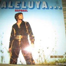 Discos de vinilo: RAPHAEL - ALELUYA...LP - ORIGINAL ESPAÑOL - HISPAVOX RECORDS 1970 - ESTEREO -. Lote 214135216