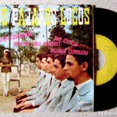 Discos de vinilo: LOS PAJAROS LOCOS.SERAFINO CAMPANARO + 3. Lote 214136248