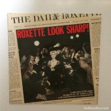 Discos de vinilo: ROXETTE – LOOK SHARP! SWEDEN 1988 PARLOPHONE. Lote 214144655