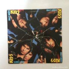 Discos de vinilo: KISS – CRAZY NIGHTS USA 1987 MERCURY. Lote 1580746