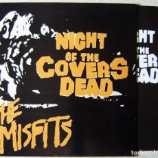 "Discos de vinilo: NIGHT OF THE COVERS DEAD THE MISFITS 10""..COMO NUEVO. Lote 214155352"