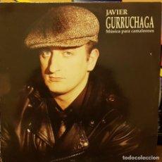 Discos de vinilo: JAVIER GURRUCHAGA - MÚSICA PARA CAMALEONES. Lote 214161731