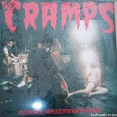 Discos de vinilo: THE CRAMPS - ROCKINNREELININAUCKLANDNEWZEALANDXXX - LP VINILO ROJO. NUEVO. PRECINTADO.. Lote 214175951