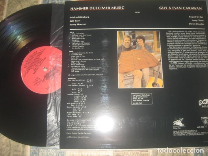 Discos de vinilo: Evan Carawan And Guy Carawan ?– Appalchian & Irish Tunes On (flying fish 1990 ) og españa lea descri - Foto 2 - 214184257