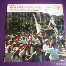 Discos de vinilo: FOLK NAVARRA PAMPLONA EP RCA 1962 - BANDA MUSICA - ALDAPA/ JOSHE MIGUEL/ JOTA DE LAS PALMAS +1. Lote 214190696