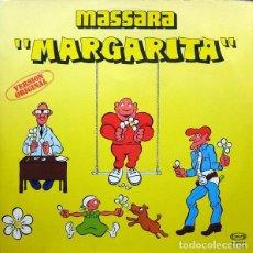 Discos de vinilo: MASSARA - MARGARITA - MAXI-SINGLE MOVIEPLAY SPAIN 1979. Lote 214192690