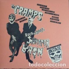 Discos de vinilo: THE CRAMPS ‎– ROCK'N'ROLL MONSTER BASH -LP-. Lote 214195655