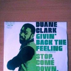 Discos de vinilo: DUANE CLARK :GIVING BACK THE FEELING + 1. RCA. PROMO.1976. Lote 214197265