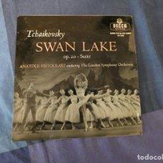 "Discos de vinilo: LPUK49 UK MUY ANTINGUIO 10"" ANATOLE FISTOULARI TCHAIKOVSKY SWAN LAKE. Lote 214204543"