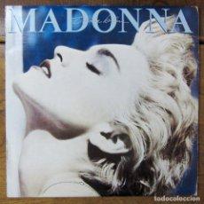 Discos de vinilo: MADONNA - TRUE BLUE - 1986 - EDICIÓN YUGOSLAVIA - CON ENCARTE. Lote 214204582