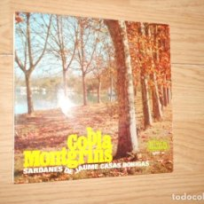 Discos de vinilo: COBLA MONTGRINS - SARDANES DE JAUME CASAS BOHIGAS - ALMA 1967. Lote 214205897