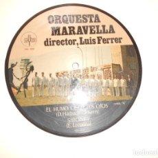 Discos de vinilo: ORQUESTA MALAVELLA - DIRECTOR LUIS FERRER - EL HUMO CIEGA TUS OJOS - SAYTON 1971 - DISCO PICTURE. Lote 214206660