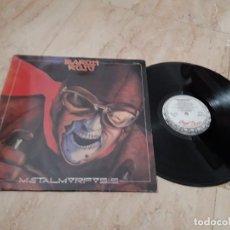 Discos de vinilo: BARON ROJO - METALMORFOSIS LP-CHAPA-SU RARA EDICION DE 1988- DIFICIL. Lote 214212017