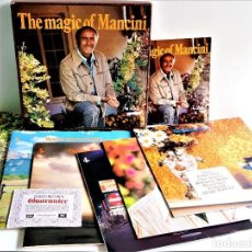 Discos de vinilo: THE MAGIC OF MANCINI - ALBUM 6 VINILOS + CERTIFICADO. Lote 214214272