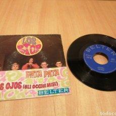 Disques de vinyle: LOS STOP. PATA PATA. MIS OJOS.. Lote 214216940