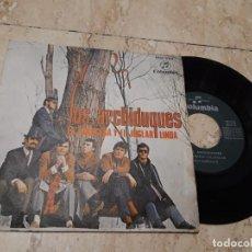 Discos de vinilo: LOS ARCHIDUQUES SG COLUMBIA 1970 LA PRINCESA Y EL JUGLAR/ LINDA TINO CASAL. Lote 214219023