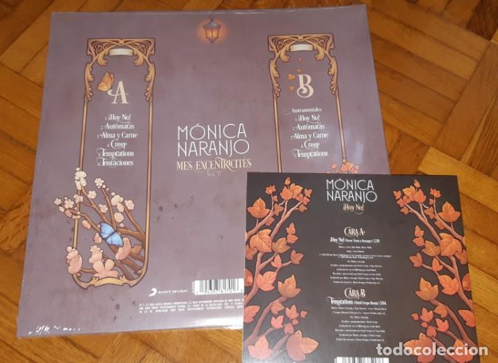Discos de vinilo: MONICA NARANJO VINILO LP MES EXCENTRECITES VOL 2 + SINGLE HOY NO EXCLUSIVO LIMITADO FIRMADO - Foto 4 - 214223091