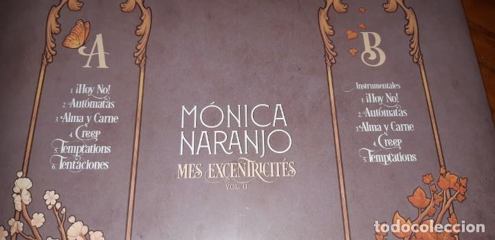 Discos de vinilo: MONICA NARANJO VINILO LP MES EXCENTRECITES VOL 2 + SINGLE HOY NO EXCLUSIVO LIMITADO FIRMADO - Foto 3 - 214223091