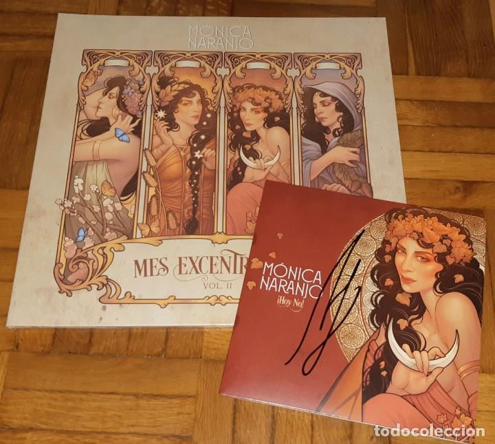 Discos de vinilo: MONICA NARANJO VINILO LP MES EXCENTRECITES VOL 2 + SINGLE HOY NO EXCLUSIVO LIMITADO FIRMADO - Foto 1 - 214223091