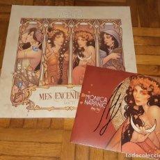 Discos de vinilo: MONICA NARANJO VINILO LP MES EXCENTRECITES VOL 2 + SINGLE HOY NO EXCLUSIVO LIMITADO FIRMADO. Lote 214223091