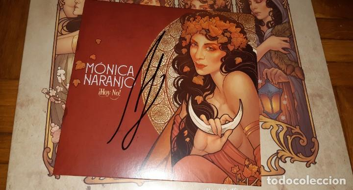Discos de vinilo: MONICA NARANJO VINILO LP MES EXCENTRECITES VOL 2 + SINGLE HOY NO EXCLUSIVO LIMITADO FIRMADO - Foto 2 - 214223091