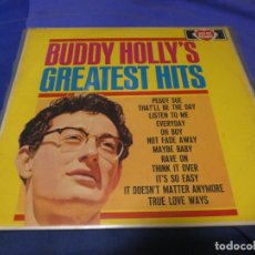 Discos de vinilo: BOXX53 LP UK 1967 BUDDY HOLLY GREATEST HITS ACE OF HEARTS RECORDS VINILO BUEN ESTADO 2 PELADOS CPORT. Lote 214231485