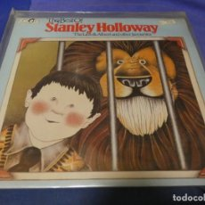 Discos de vinilo: BOXX53 LP DESDE UN EURO THE BEST OF STANLEY HALLOWAY COMICO INGLES UK 1975 APROX. Lote 214231517
