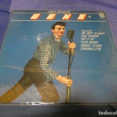 Discos de vinilo: BOXX53 LP UK AÑOS 70 ROCK ON WITH GENE VINCENT BUEN ESTADO. Lote 214231555