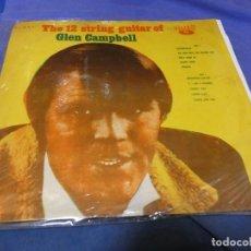 Discos de vinilo: BOXX53 LP TAIWAN 1966 THE 12 STRING GUITAR OF GLEN CAMPBELL BUEN ESTADO CON SARNOSISIMA PORTADA. Lote 214231593