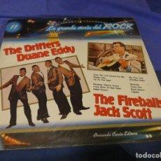Discos de vinilo: BOXX53 LP RECOPILATORIO ROCK AÑOS 50 DRIFTERS DUANE EDDY FIREBALLS JACK SCOTT BUEN ESTADO. Lote 214231603