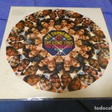 Discos de vinilo: BOXX53 LP SOUL MOTOWN UK CIRCA 1968 SUPREMES AND THE FOUR TOPS VINILO BIEN CPORT ALGUNA MANCHA. Lote 214231626